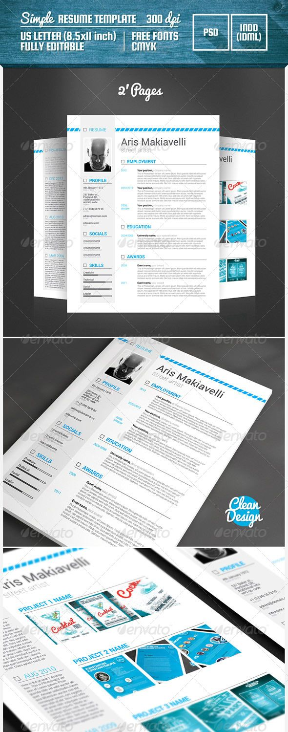 Cv Templates Design%0A Professional resume template