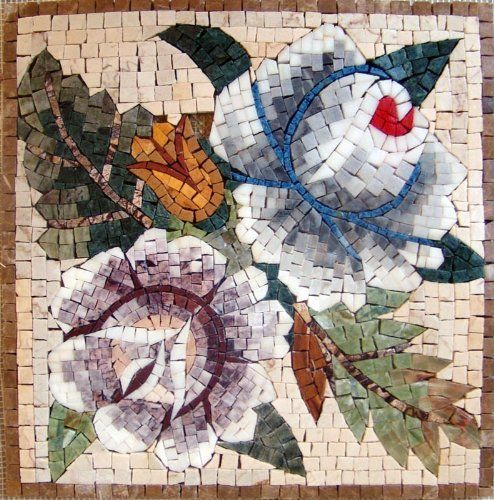 12x12 Marble Mosaic Pattern Art Tile Accent Piece by mozaico. $90.00. Mosaics have endless uses and infinite possibilities! They can be used indoors or outdoors, be part of your kitchen, decorate your bathroom and the bottom of your pools, cover walls and ceilings, or serve as frames for mirrors and paintings.