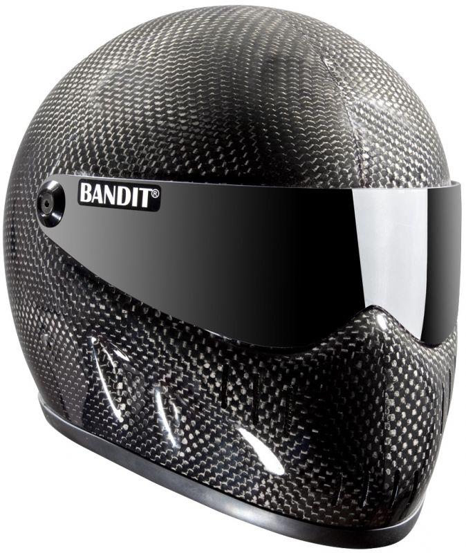 Like a carbon-fiber Stig helmet Cool Motorcycle Helmets 6f42807b8eed