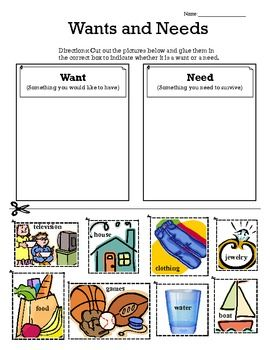 Number Names Worksheets wants and needs worksheets : 1000+ images about Wants vs needs on Pinterest
