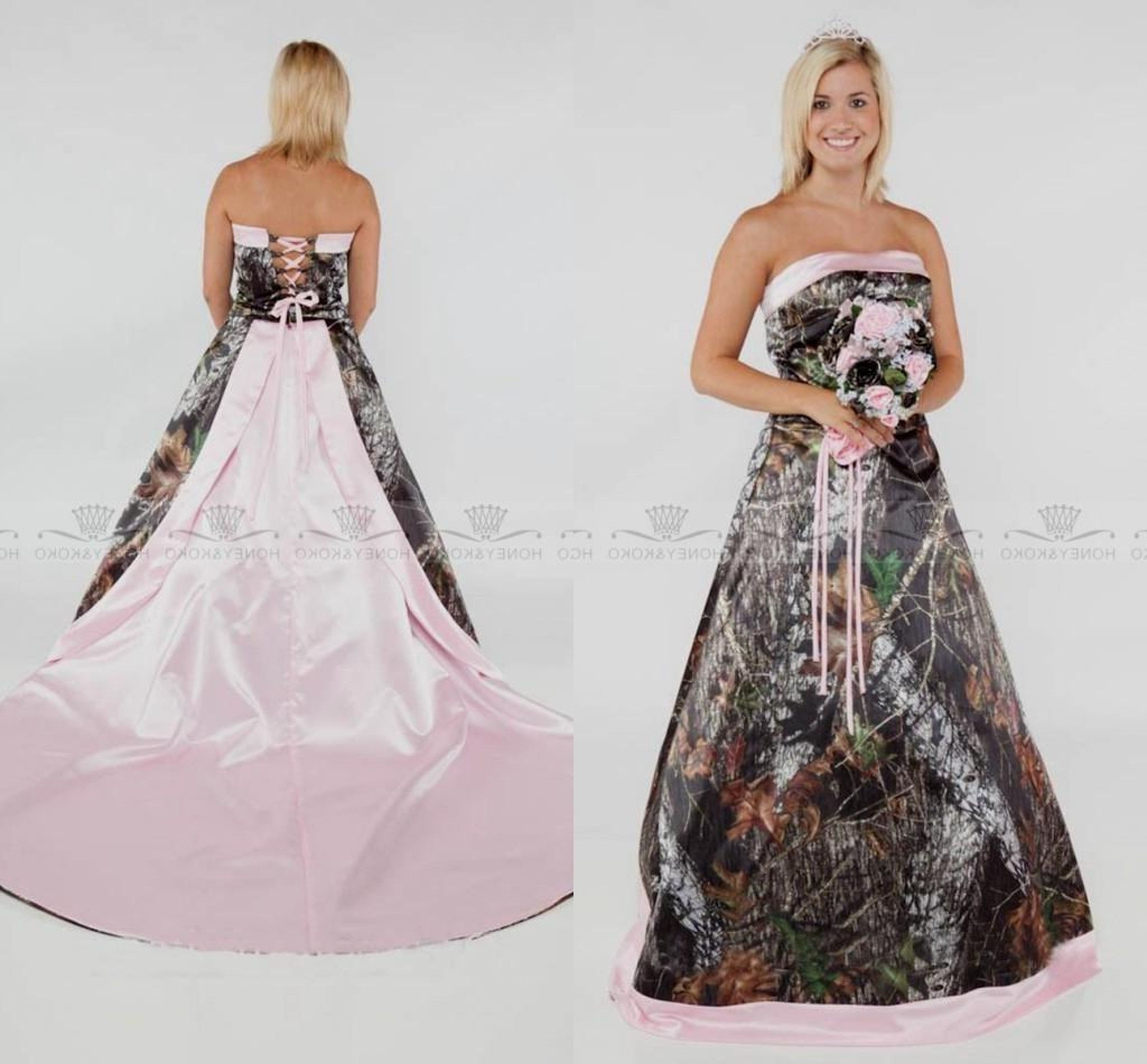 Wedding Camo dresses for plus sizes forecast to wear in autumn in 2019