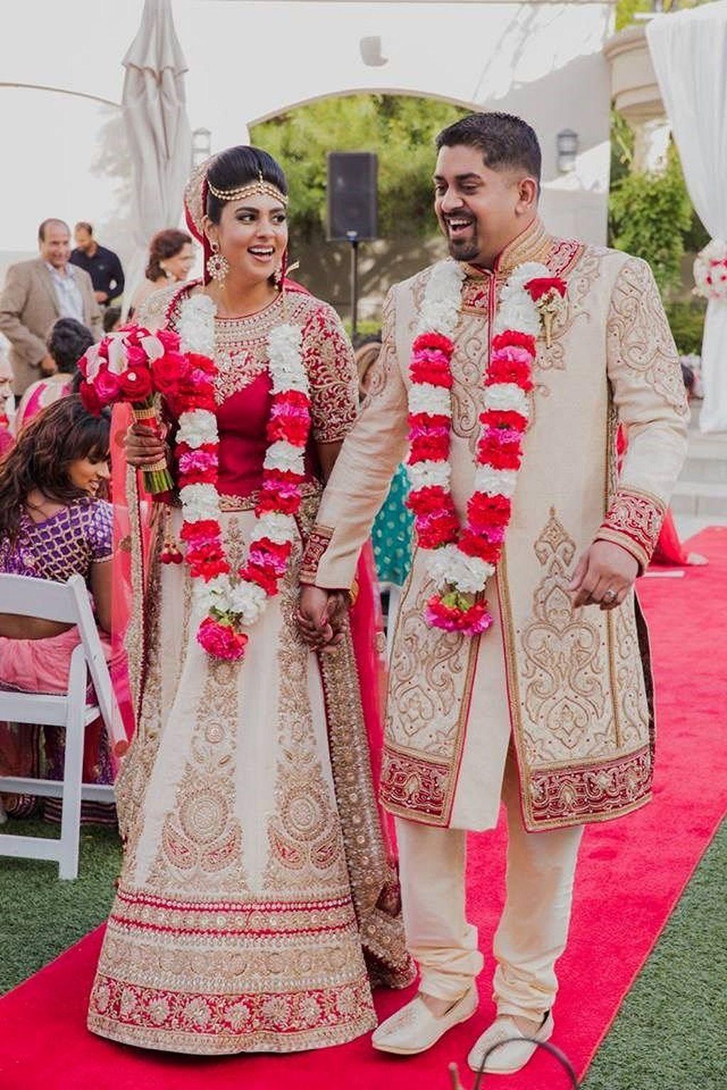30+ Beautiful Indian Wedding Reception Ideas | Indian wedding ...