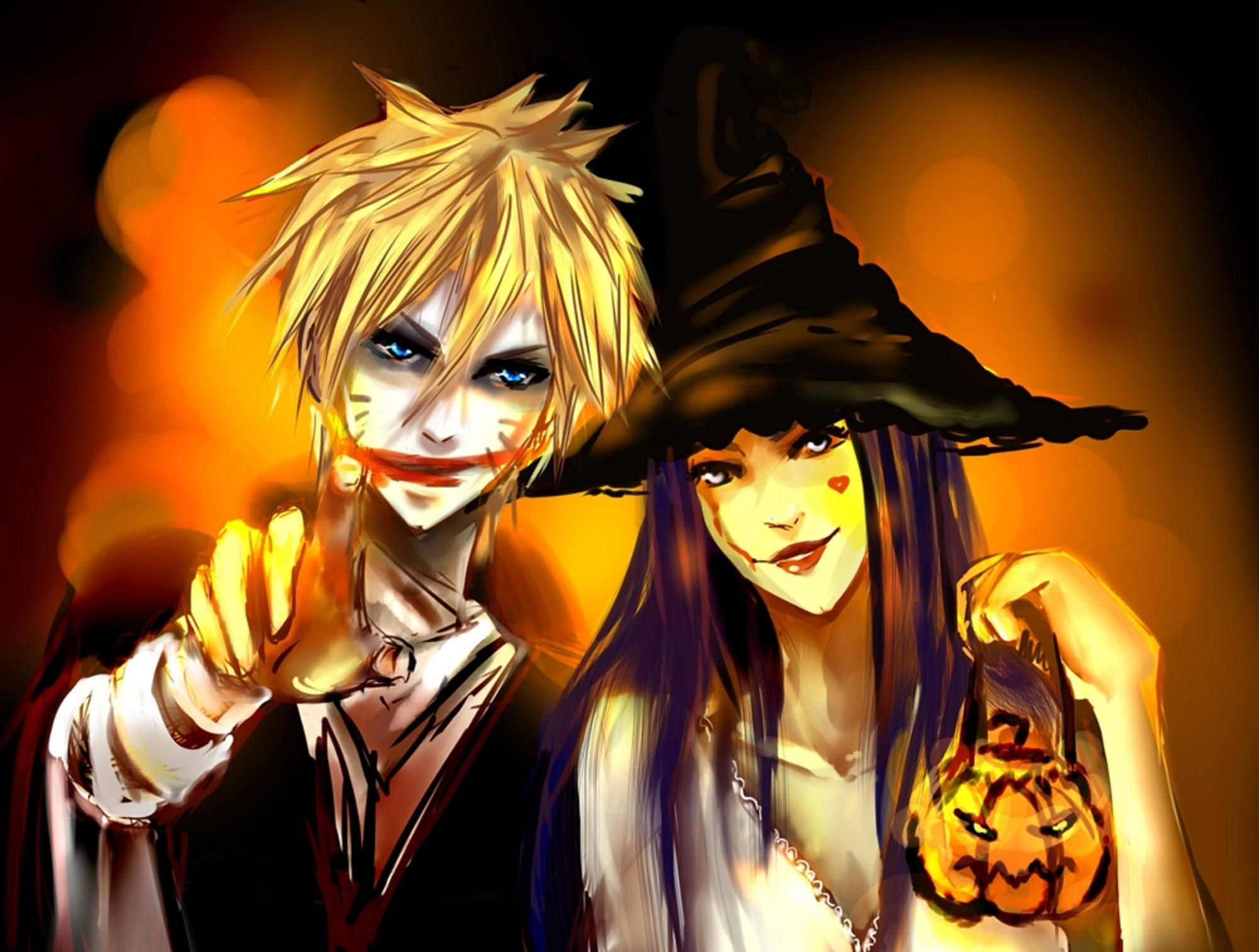 happy halloween hd wallpapers anime halloween pics