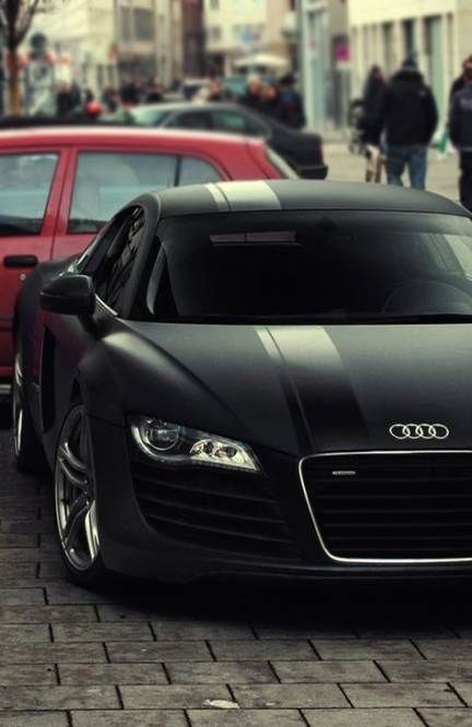 45+ Trendy black cars matte audi r8 #audir8