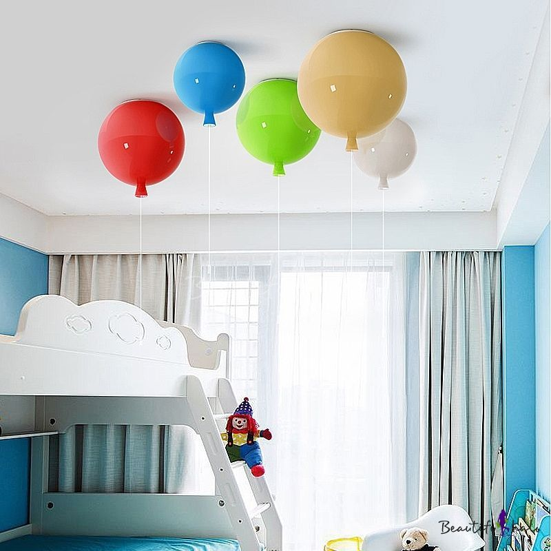 White Bedroom Ideas With Wow Factor: Bring The Wow Factor With These Custom LED Flushmount Kids