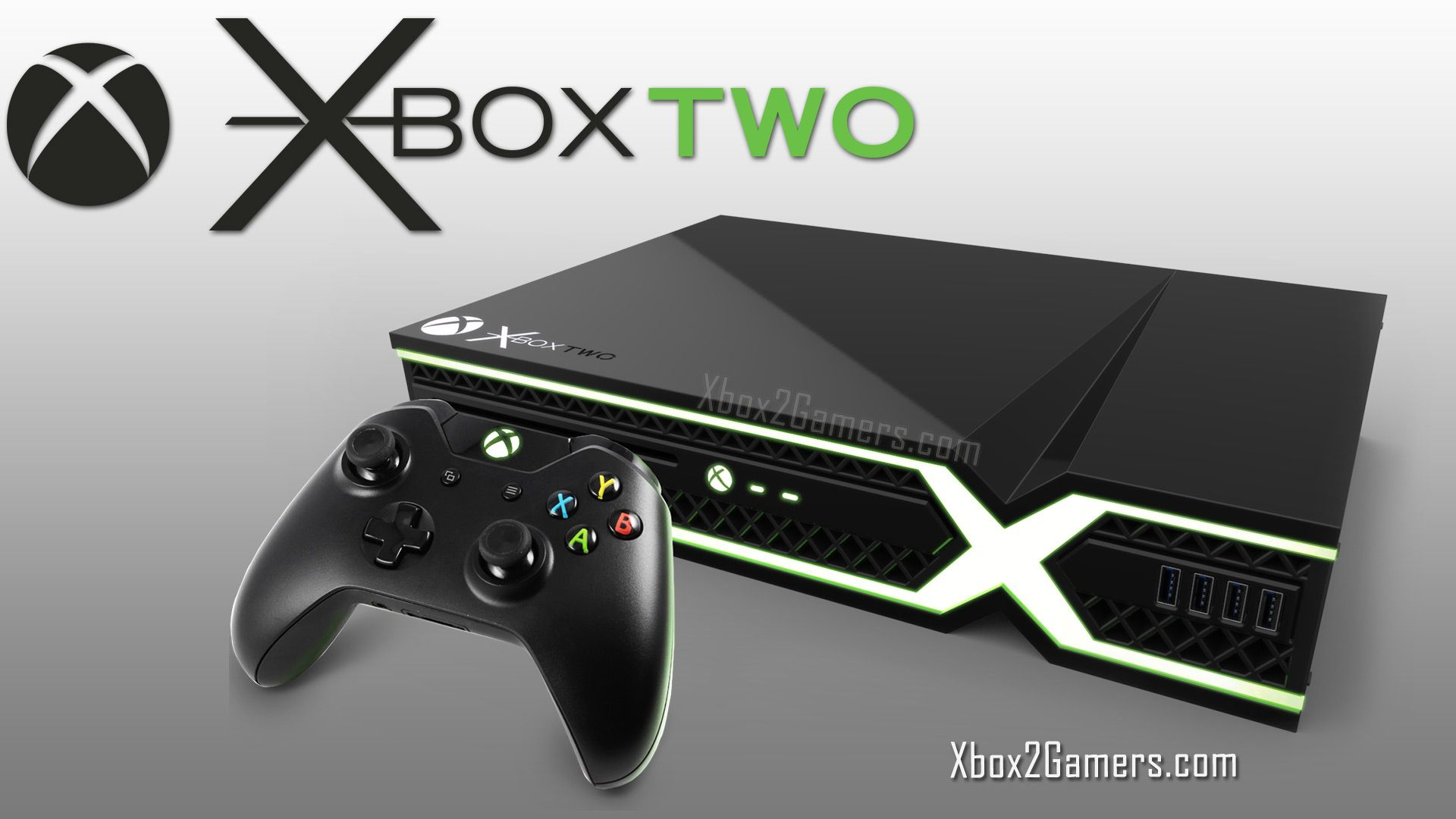The Xbox 2 in black. Beautiful Xbox design.