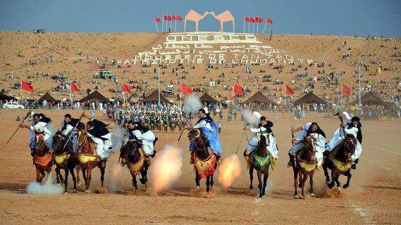 Fantasia in Morocco