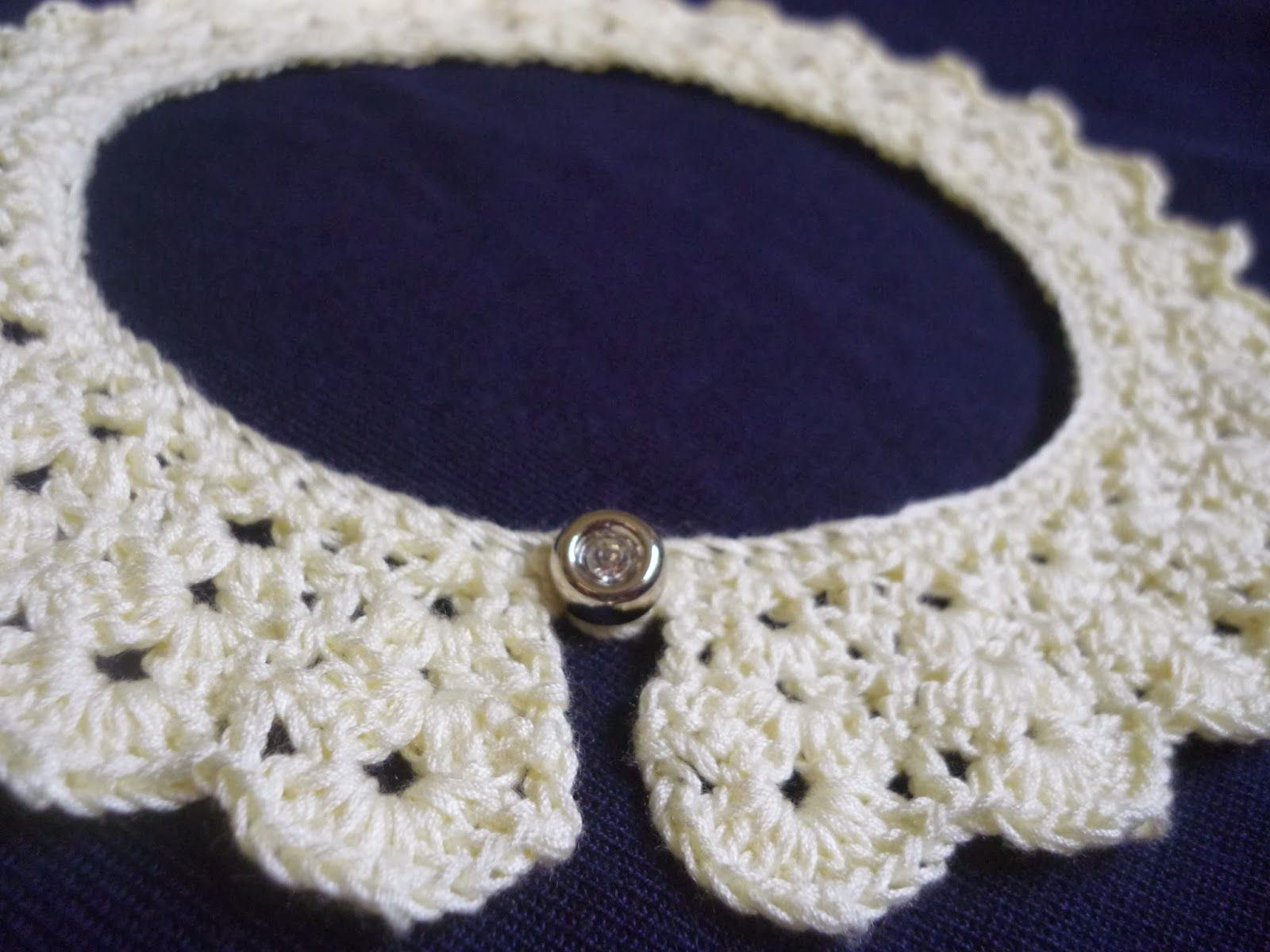 Peter Pan Crochet Collar