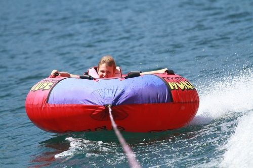 Boat Renters can also rent a tube or wakeboard