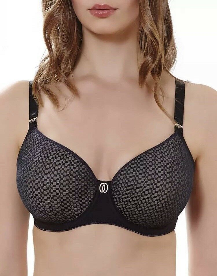 bb6d4e445a Freya Womens Muse Underwire Spacer Molded Bra Black 28g AA1901BLK  fashion   clothing  shoes  accessories  womensclothing  intimatessleep (ebay link)