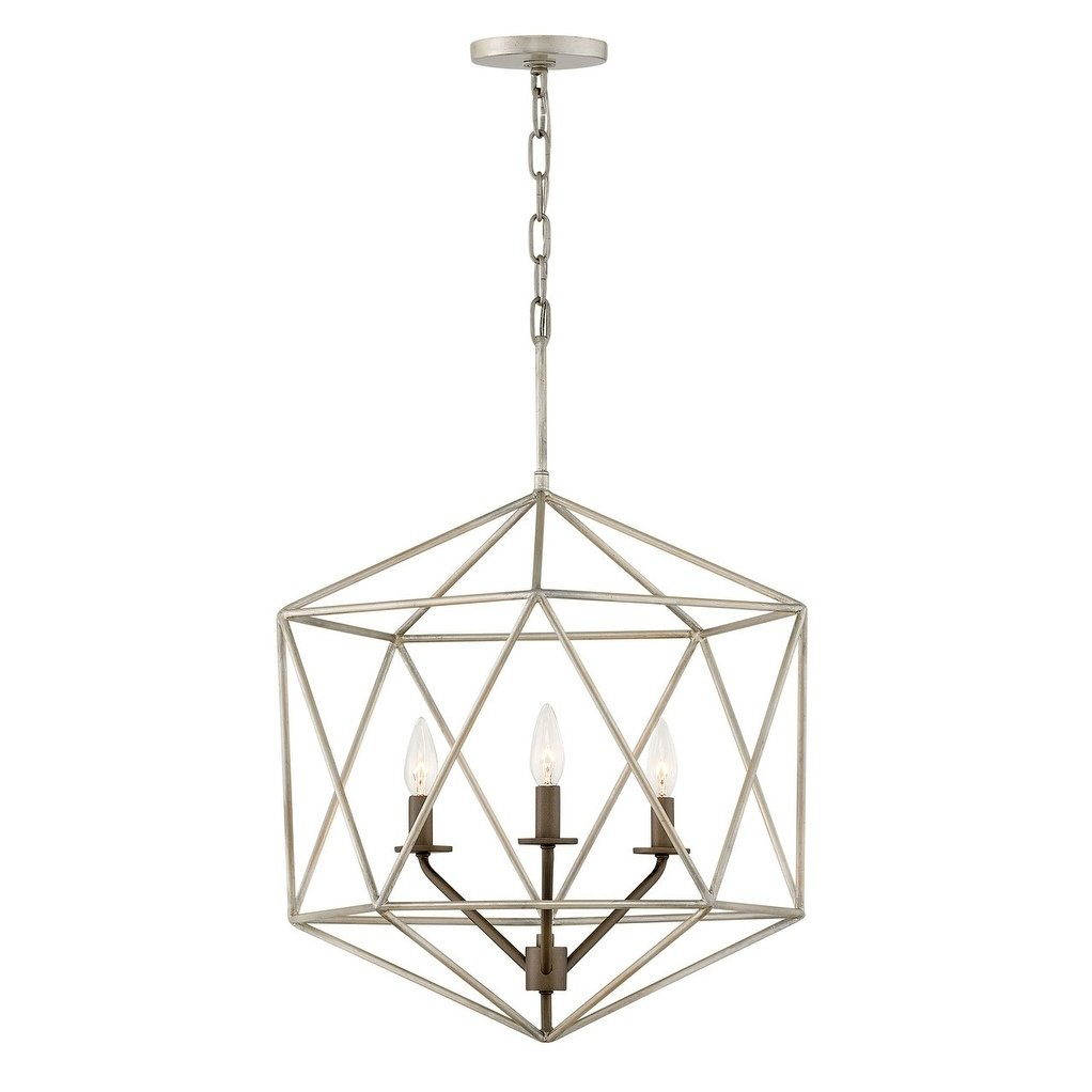 Hinkley Astrid 3 Light Chandelier In Glacial Chandelier