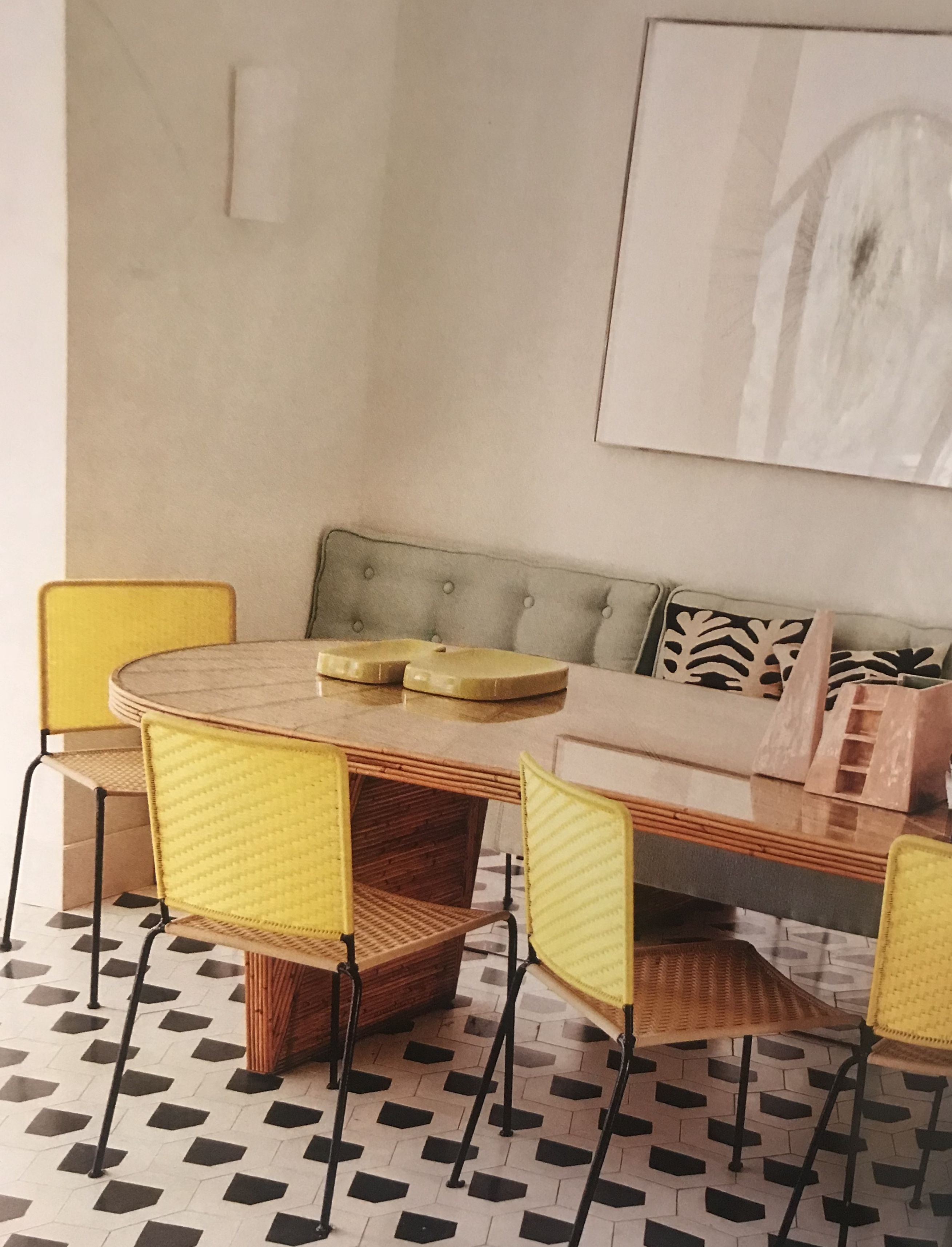 Chair Afro By India Mahdavi Table Sunshine