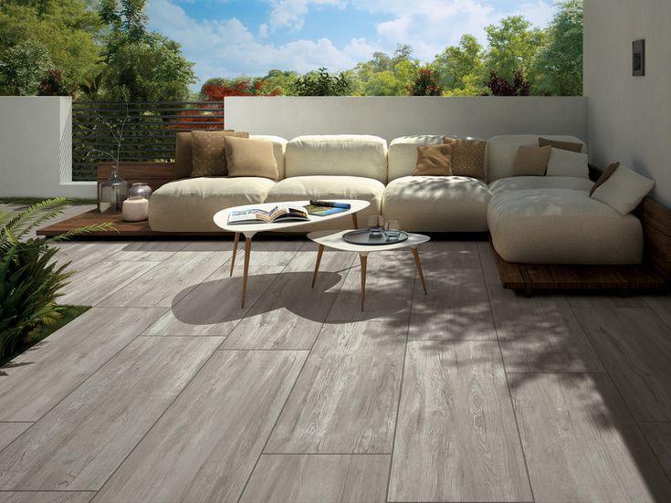 Holzoptik Maple Nordic Terrassenplatten Der Perfekte Ort Zum Ausruhen Terrasse Mit Robusten Holzoptik Wohn Design Aussenwohnbereiche Gartenmobel Sets