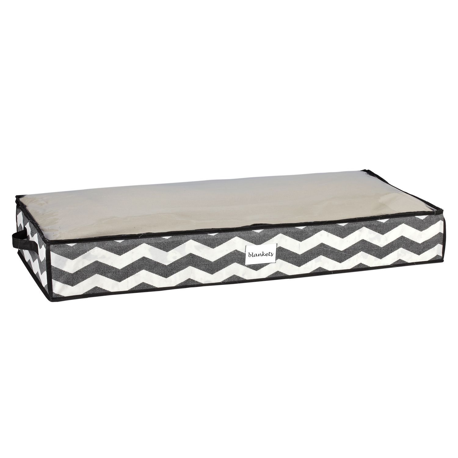 the macbeth collection chevron printed under the bed storage bag