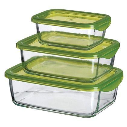Jolies boites vertes !  Ici : http://stylefru.it/s259454 #lunchbox