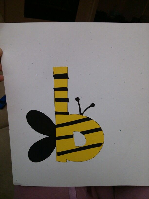 Fun craft for the letter b Learning the abc 39 s is fun