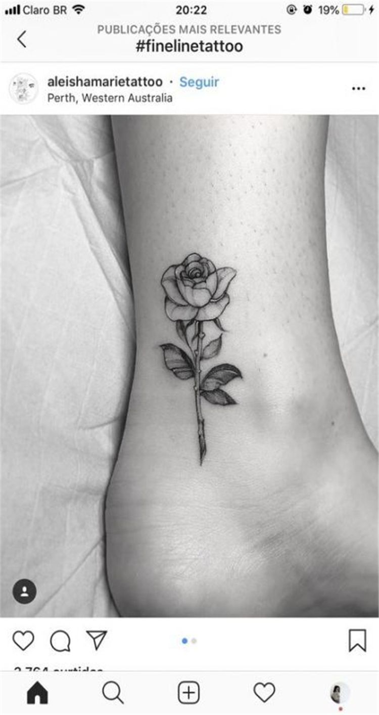 Trendy Rose Tattoo Designs For Your Desire About Floral Tattoo - Women Fashion Lifestyle Blog Shinecoco.com