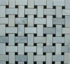 Historic Floor Tile Patterns Basket Weave