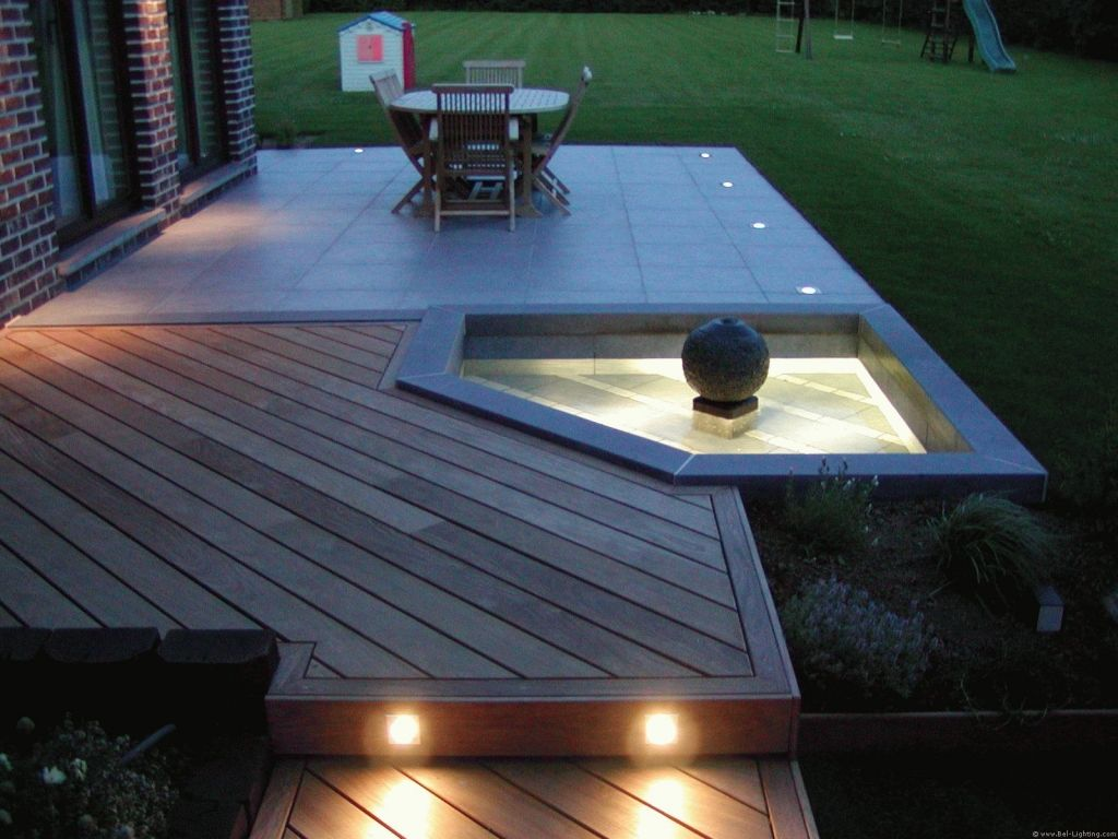 Bel lighting clairage ext rieur spot zaxor exterior for Luminaire terrasse bois