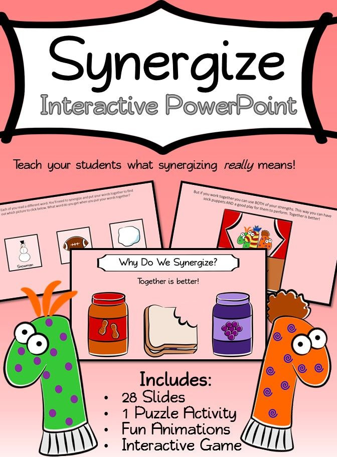 Synergize Interactive Powerpoint Great For Teaching Habit 6 At Leader In Me Schools Filled With Animations Games Leader In Me School Leader Teaching Habits