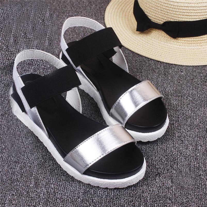 Venta caliente Zapatos Mujer Peep Summer Sandals Zapatos Peep Mujer toe Low Zapatos Roman f2faae