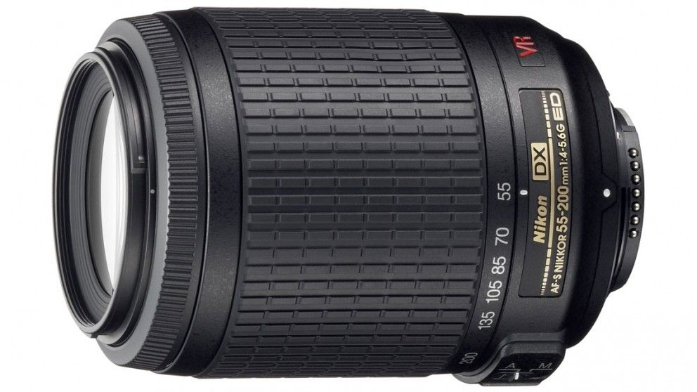 $219 Nikon Nikkor AF-S DX 55-200mm f/4-5.6G ED VR Lens - Lenses - Camera Accessories - Cameras, Printers & Stationery | Harvey Norman Australia