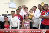 Alrededor De 360 Personas Padecen De Hemofilia En RD #Video