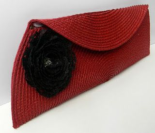 Ruby Red Placemat Clutch