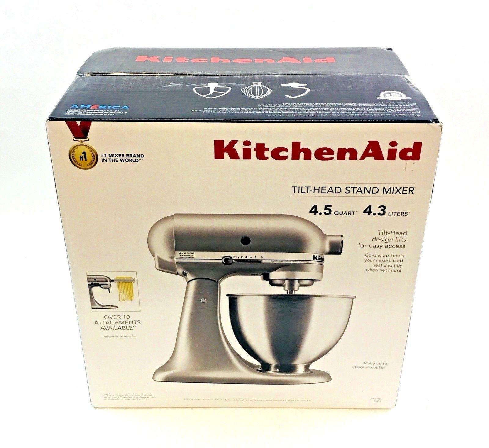Countertop mixers 133701 kitchenaid 45 quart tilthead