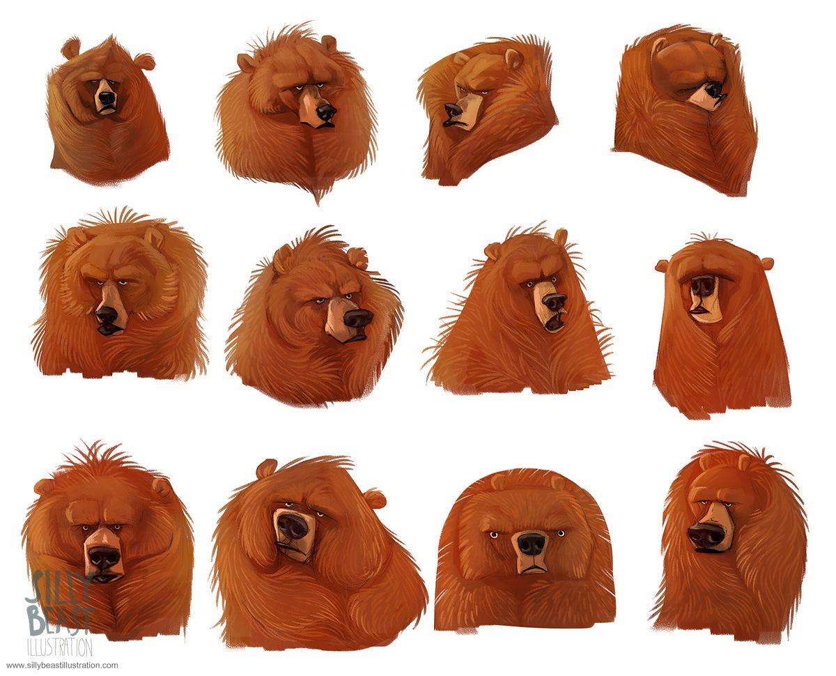 Bear concepts on Behance | Bears | Pinterest