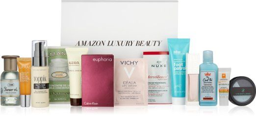 FREE GIFT WITH QUALIFYING PURCHASE: Luxury Beauty Sample Box (13 or more pieces)