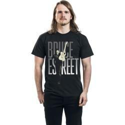 Bruce Springsteen Estreet Herren-T-Shirt - schwarz - Offizielles Merchandise