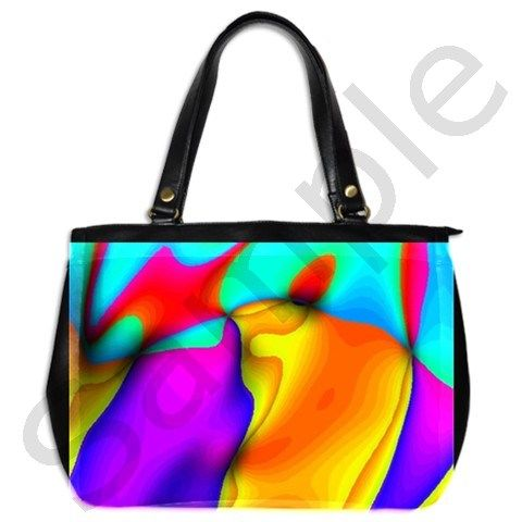 Crazy Effects Oversize Office Handbag Two Sides