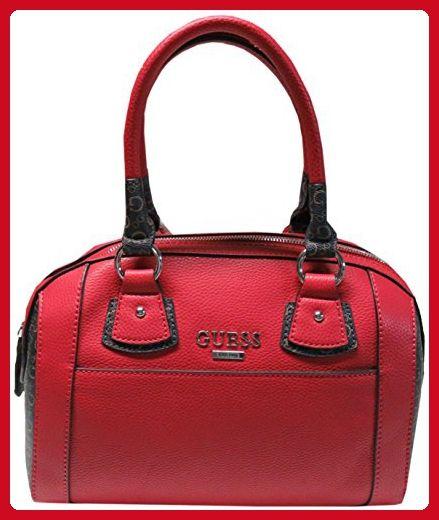 Guess Women's Purse Handbag Mellifiuous Satchel Red Multi - Top handle bags (*Amazon Partner-Link)