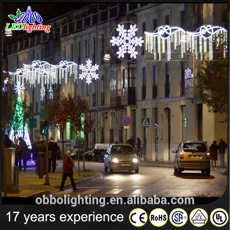 source outdoor wholesale led christmas led snowflake light motif street decoration on malibaba
