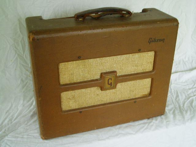 details about gibson ga 20 1950 39 s vintage brown combo amp vinyl amplifier cover gibs040 amps. Black Bedroom Furniture Sets. Home Design Ideas