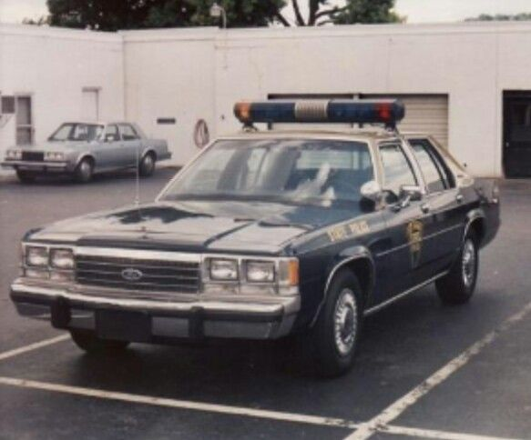 West Virginia State Police 1991 Ford Ltd Crown Victoria Police Cars Old Police Cars State Police