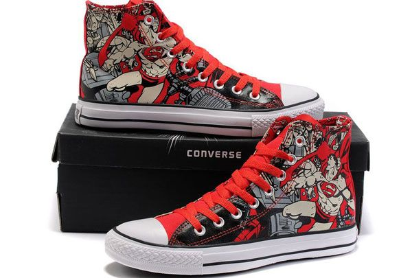 Converse Chuck Taylor All Star DC Comics Red Superman