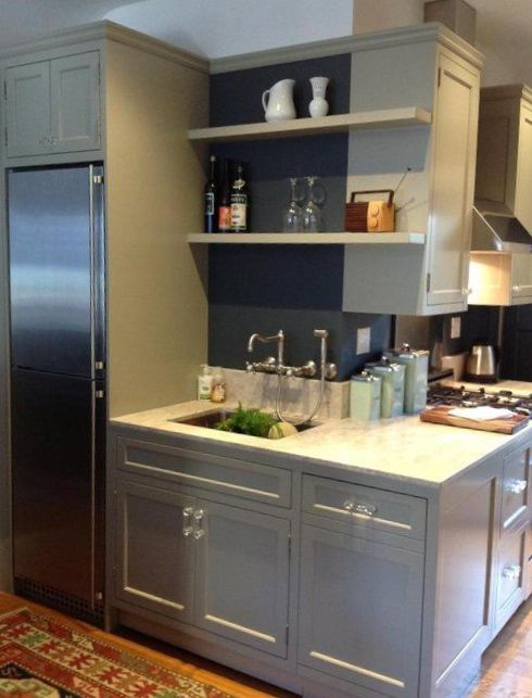 Sandy Hook Gray By Benjamin Moore Wonderful Color For Cabinetry