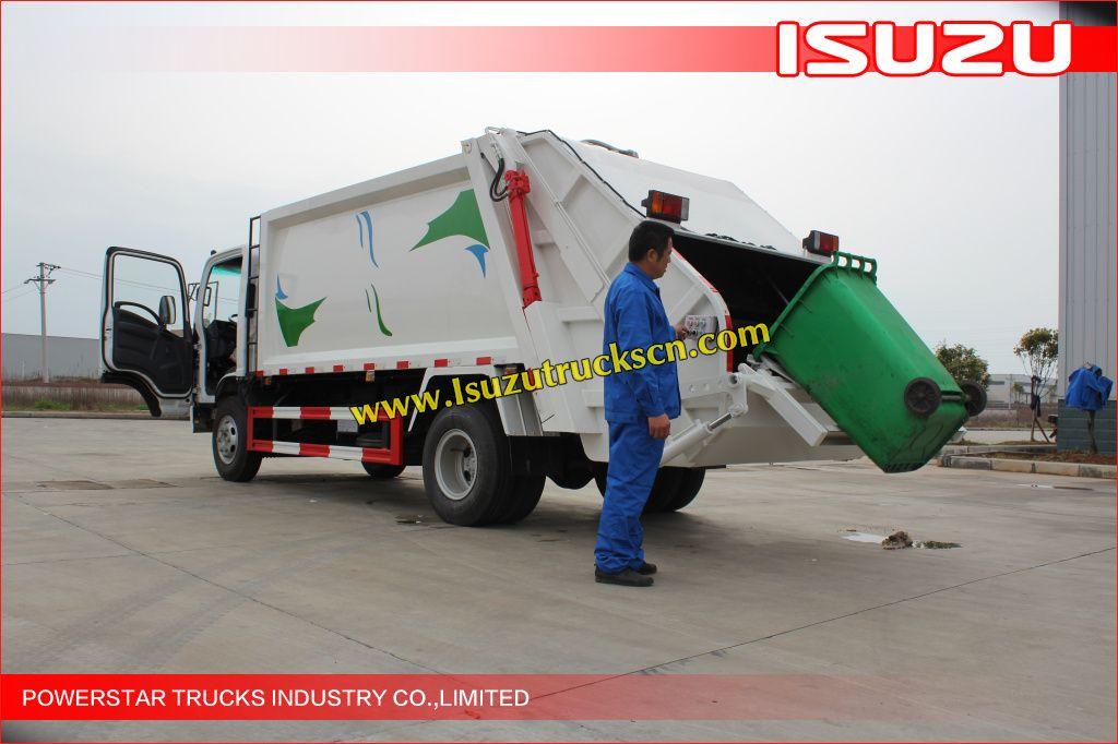 5tons 8tons Isuzu Elf Garbage Truck With Compactor For Sale Http Www Isuzutruckscn Com Isuzu Garbage Compactor Truck C37 Compactor Garbage Truck Trucks