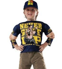John Cena WWE Professional Wrestling Wrestler Dress Up Halloween Child Costume