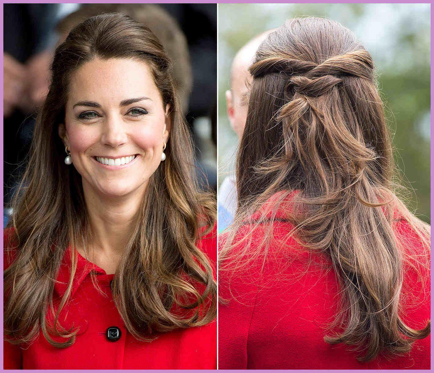 Frisur-Frisuren Kate Middleton Haar Tutorial - Frisur-Frisuren