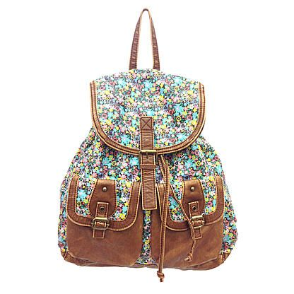 c61720d92b5 Bongo Junior s Backpack - Floral   Faux Leather - Sears   Trend We ...