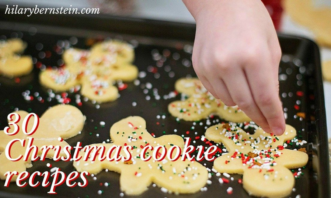 Celebrate the season with these 30 delicious recipes for Christmas cookies. (Or, if cookie baking's not your thing, learn how to host a Christmas cookie exchange!)