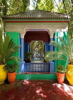 Jardin Majorelle In Marrakech Situated At The End Of The Seguia