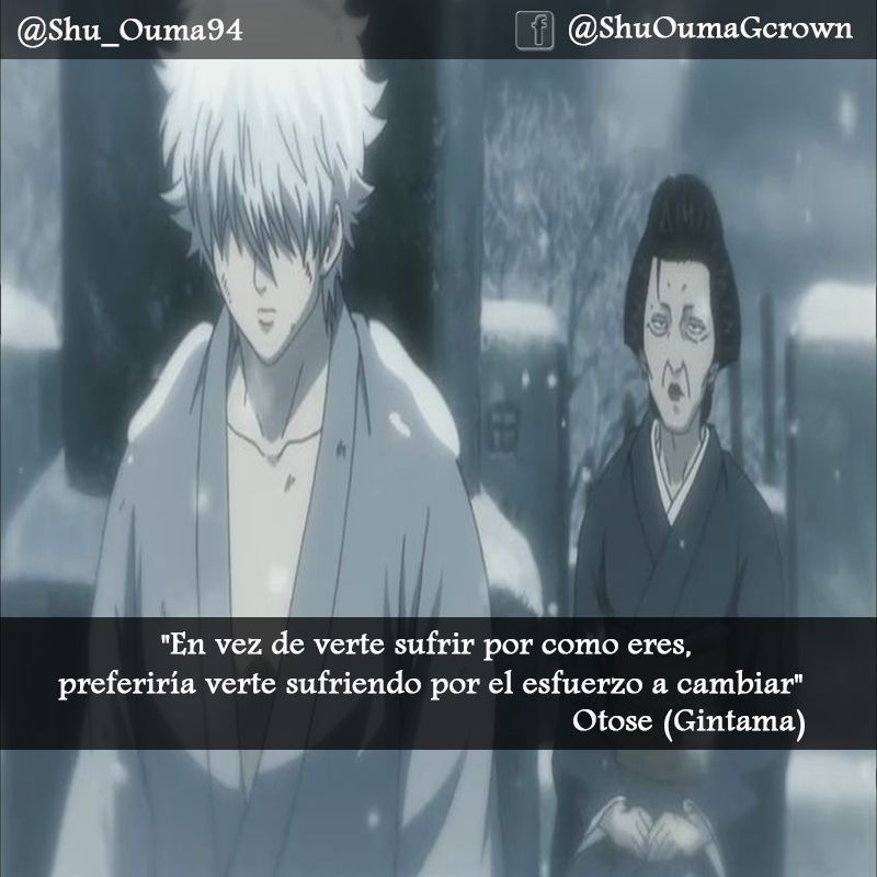 gintama frases series anime