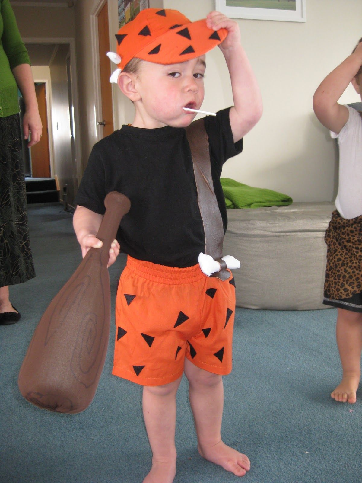 pebbles and bam bam costumes\ | Polkadotty Mum Pebbles u0026 Bam Bam Party Hard  sc 1 st  Pinterest & pebbles and bam bam costumes\ | Polkadotty Mum: Pebbles u0026 Bam Bam ...