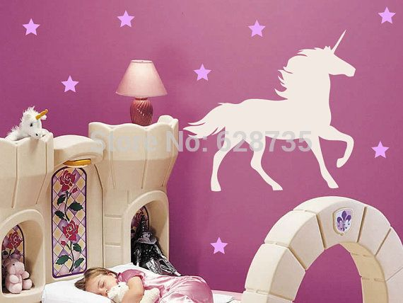 Home Decor Wandtattoo Wandsticker Wandaufkleber Einhorn Unicorn Sti Aufkleber Kinderzimmer Home Furniture Diy Breadcrumbs Ie