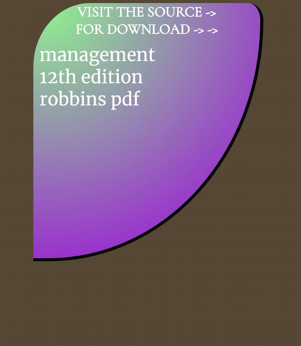 Management 12th Edition Robbins Pdf Management Incoming Call Screenshot Incoming Call