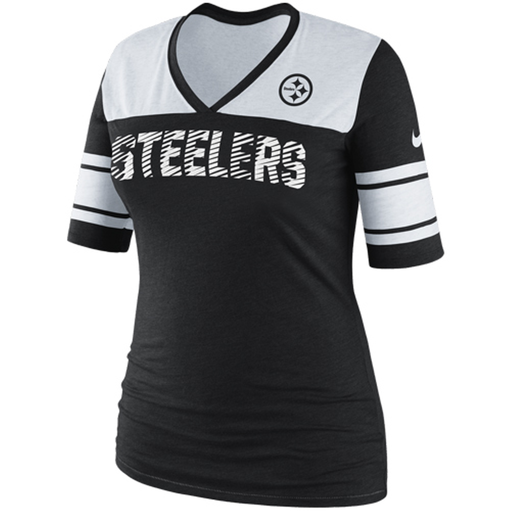 Nike Pittsburgh Steelers Touchdown Women's V-Neck